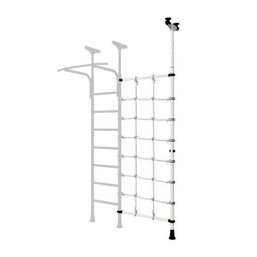 expandable_pole_with_climbing_net_black