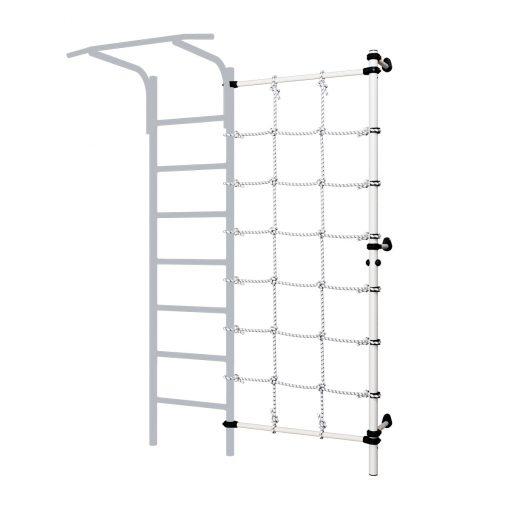 wall_mounted_pole_with_climbing_net_black