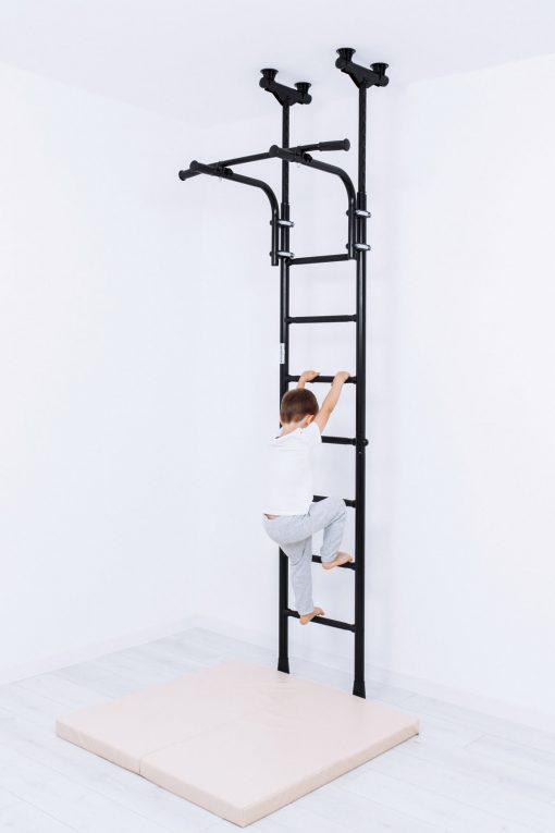 gymnastic_wallbars_teenager_mounted_between_floor_and_ceiling_for_children