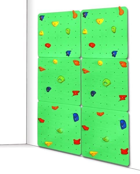 double_climbing_wall_green