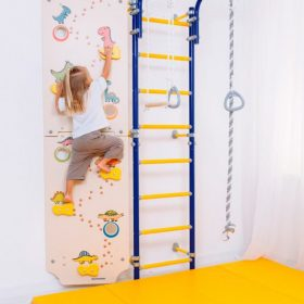gymnastic_wallbars_comet_next_1_blue_with_climbing_wall